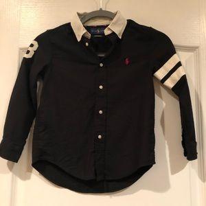 Polo button down shirt